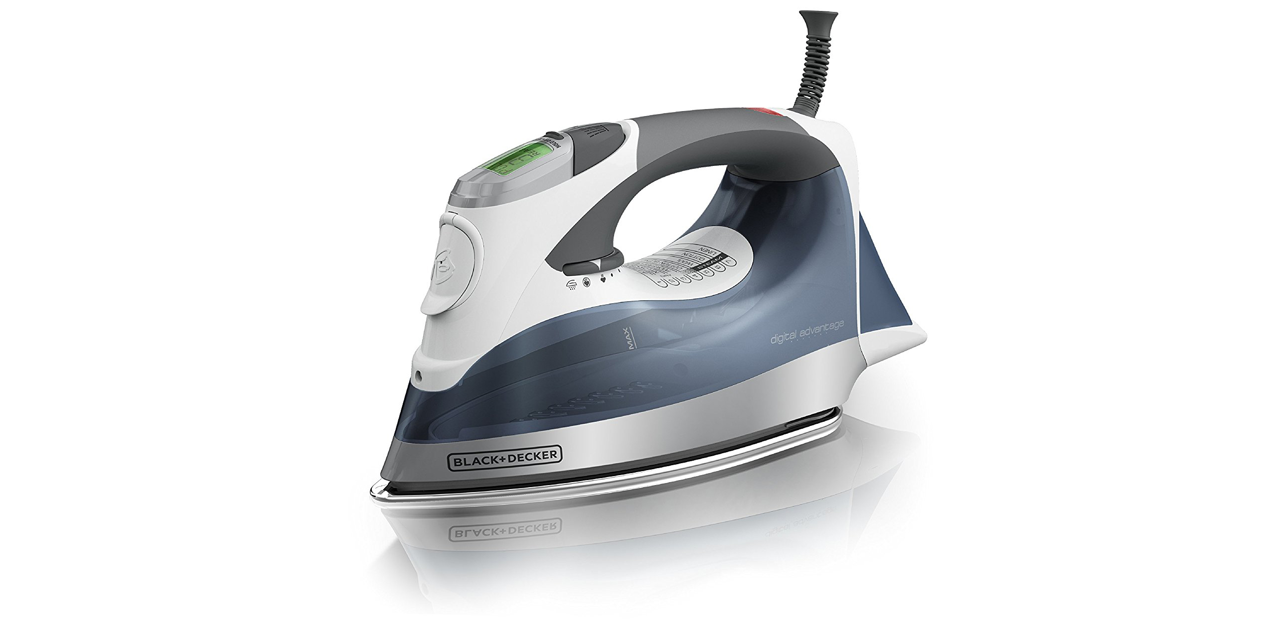 BLACK+DECKER Digital Steam Iron is top-rated and on sale at Amazon for $32