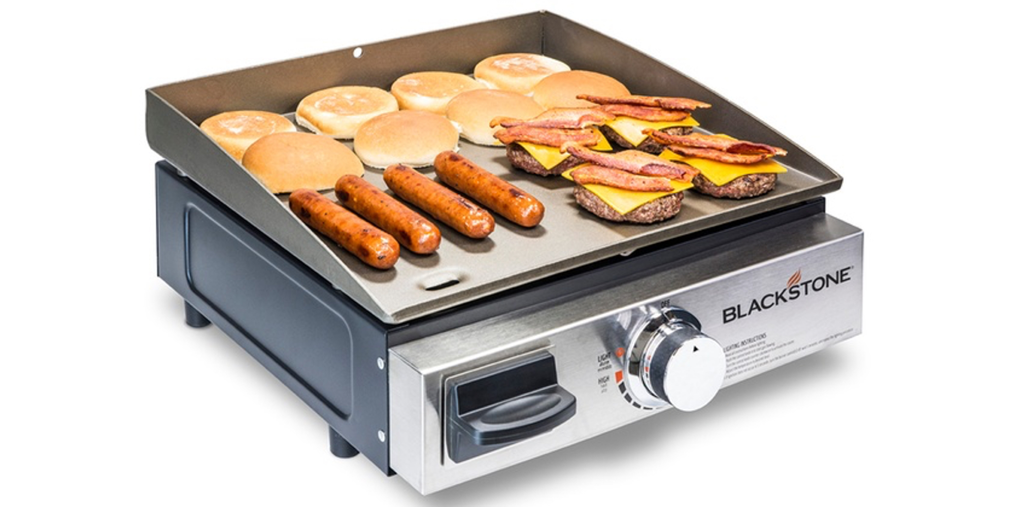 Blackstone Gas Griddle is the perfect way to cook on-the-go for $51.50