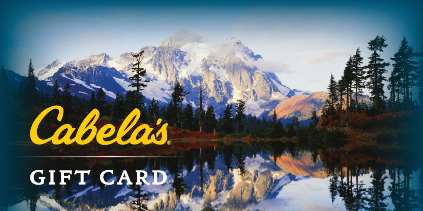 Cabela/'s Luke Bryan Gift Card No $ Value Collectible Cabelas Country Music Star