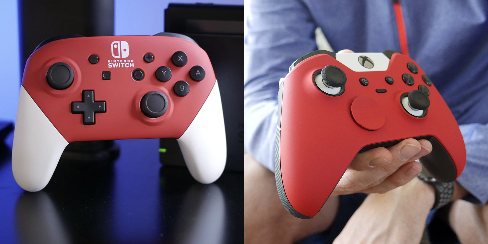 Hands-on with Colorware's custom controllers for Nintendo Switch, Xbox One, and PS4