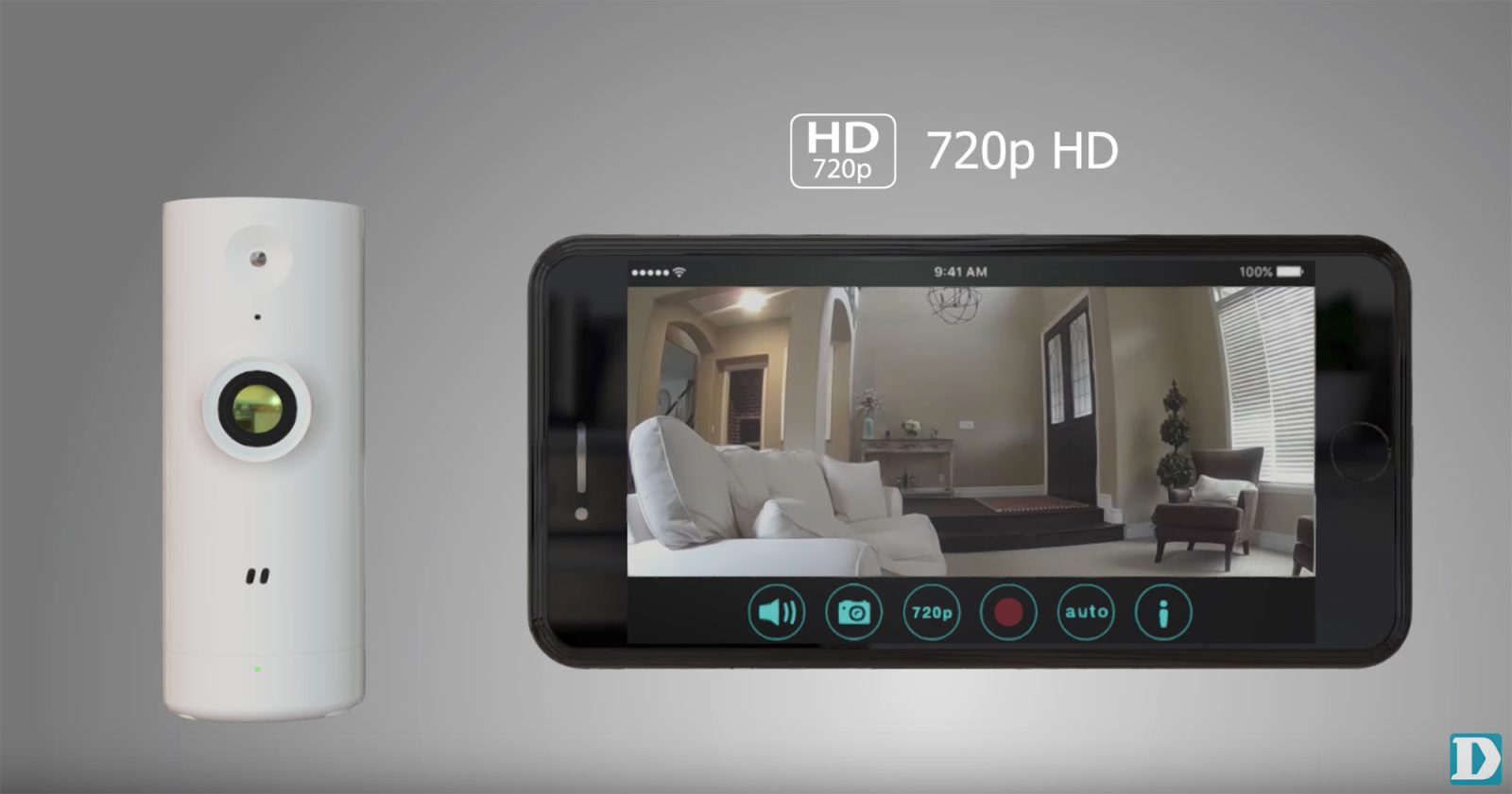 D-Link's new $60 Wi-Fi Surveillance Camera offers HD streams at an affordable price