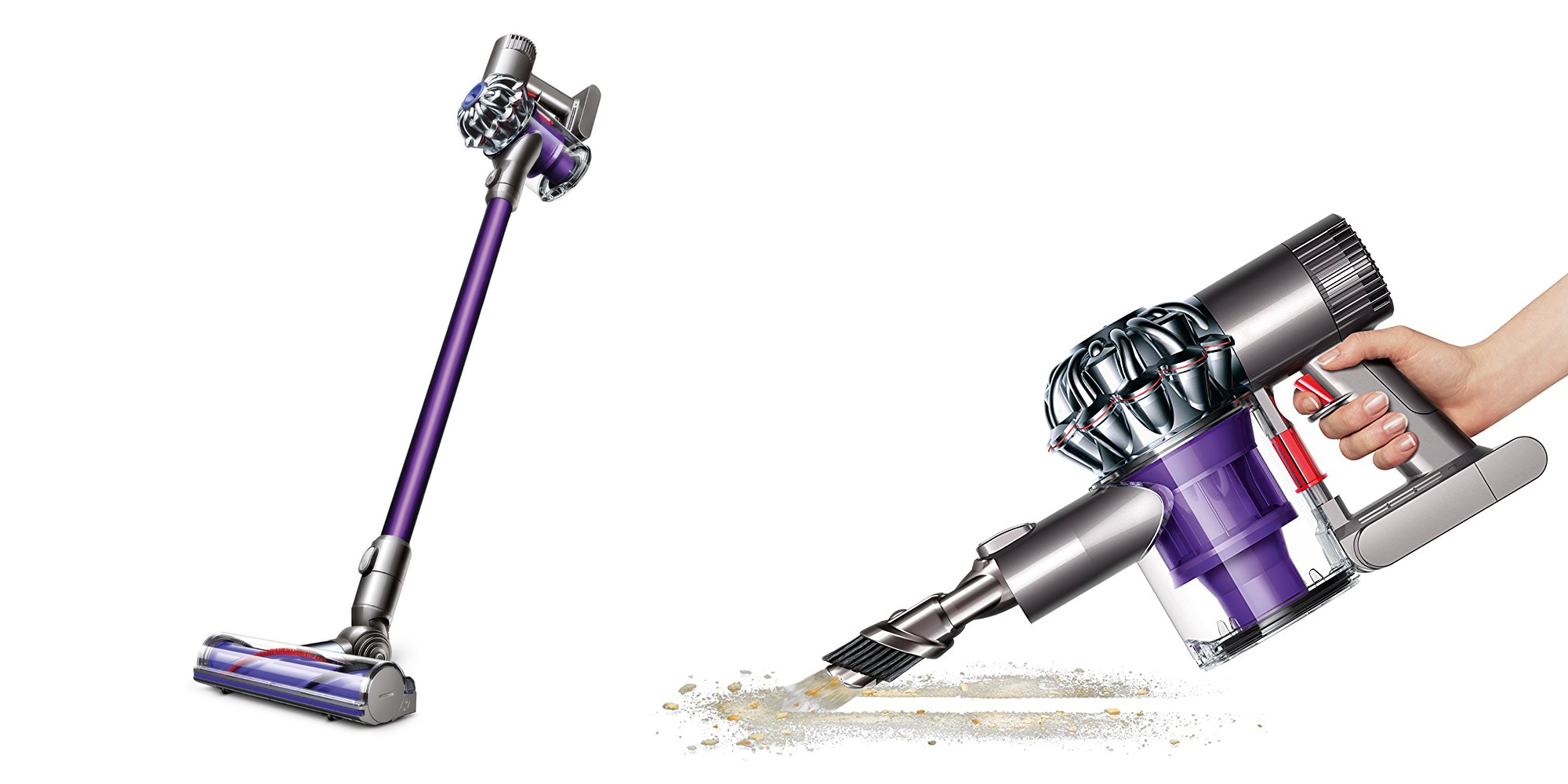 Image of: Cord Free Dysons V6 Animal Cordfree Vacuum Down To 200 At Amazon cert Refurb Orig 500 9to5toys Dysons V6 Animal Cordfree Vacuum Down To 200 At Amazon cert