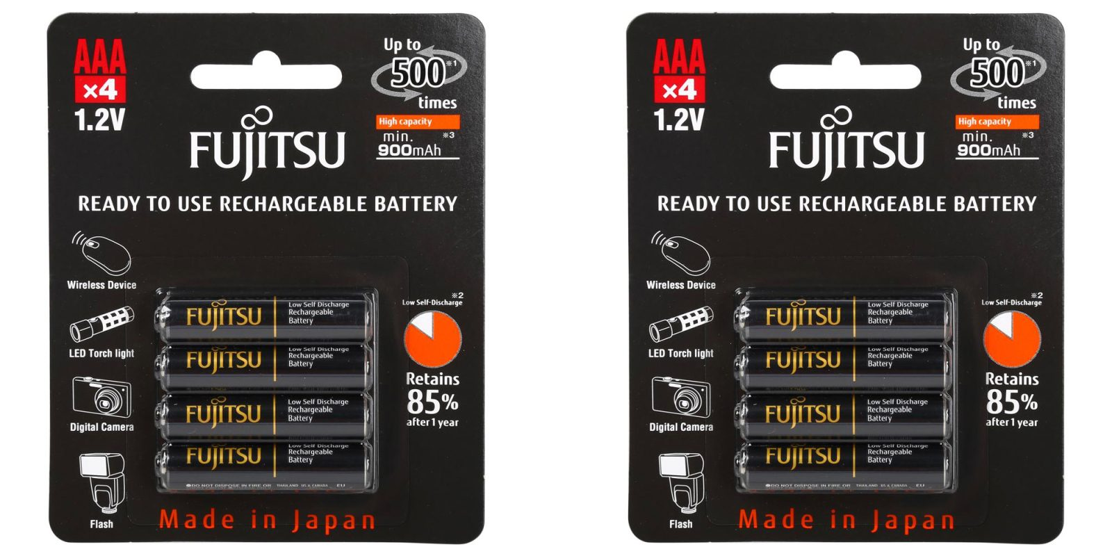 Aaa Battery Promo Code >> Green Deals: 4-pack Fujitsu AAA High Capacity Rechargeable ...