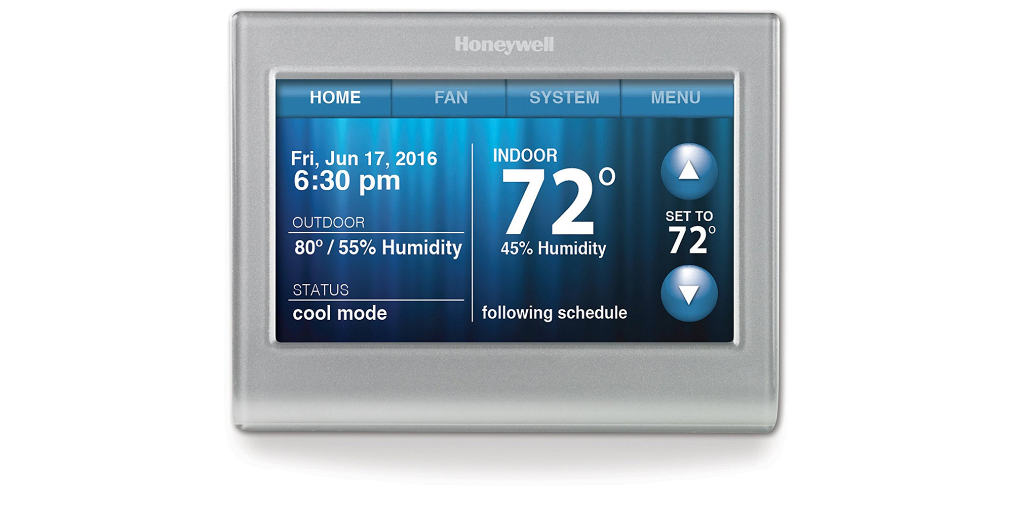 Honeywell Wi Fi Thermostat Works With Alexa For 130