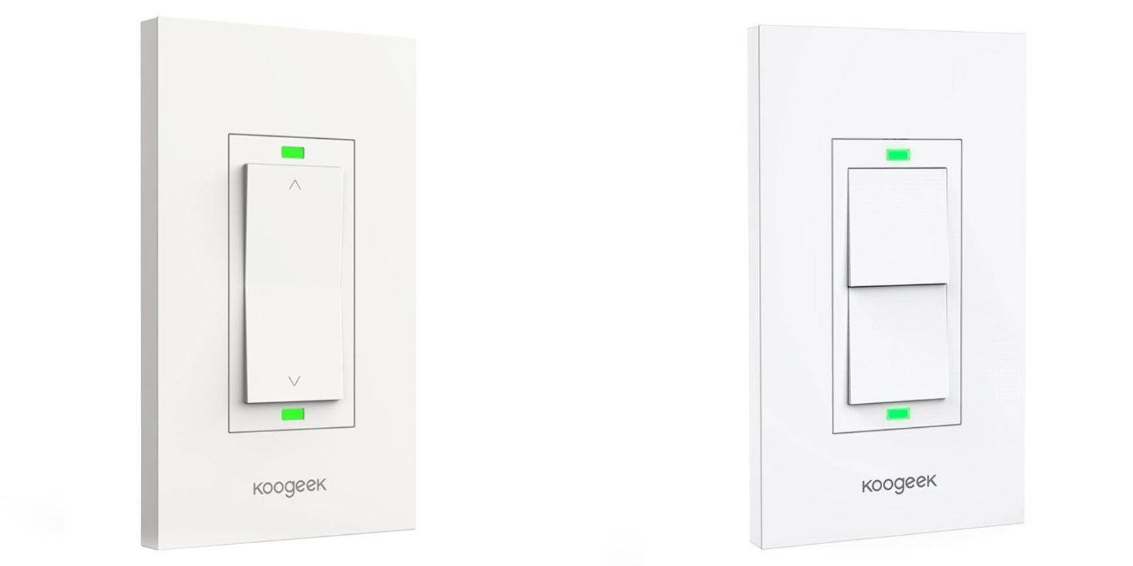 Add HomeKit-enabled Light Switches from Koogeek to your setup from $34