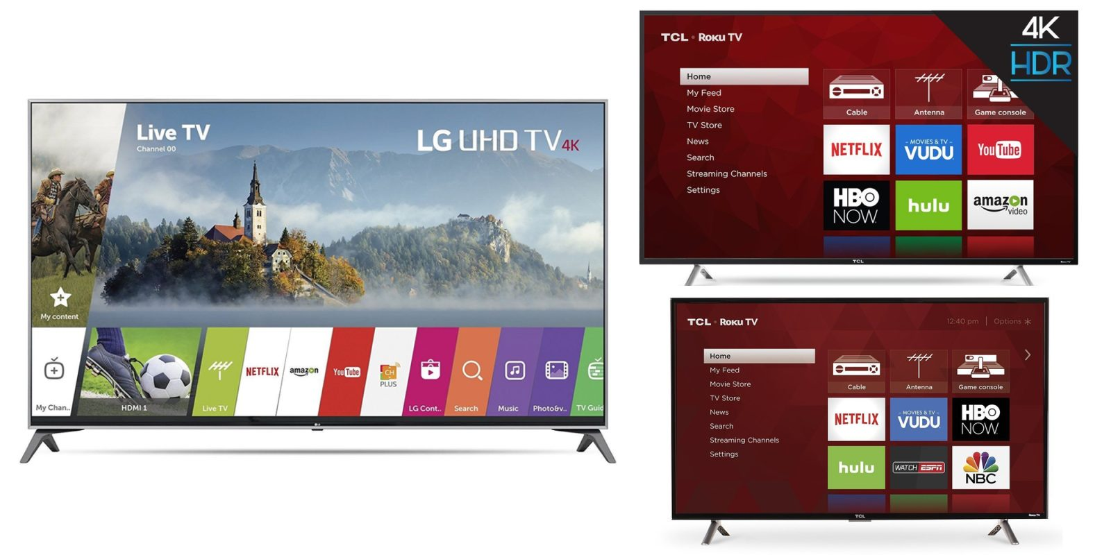 Roku-enabled HDTVs are on sale at Best Buy + Amazon from $150, LG 60