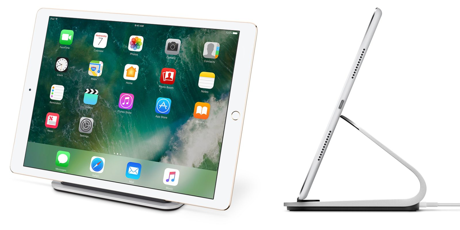 bc0638a0e96 Logitech BASE Charging Stand w/ Smart Connector for iPad Pro: $65 (Reg.  $100)