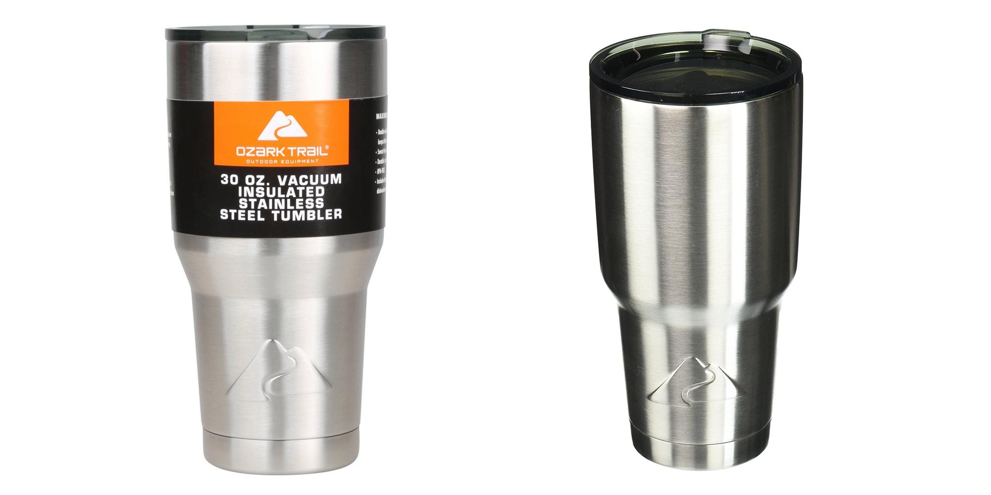 922639f8055 Ozark Trail 30-Oz. Stainless Steel Tumbler 2-pack for $9 (Reg. $28 ...