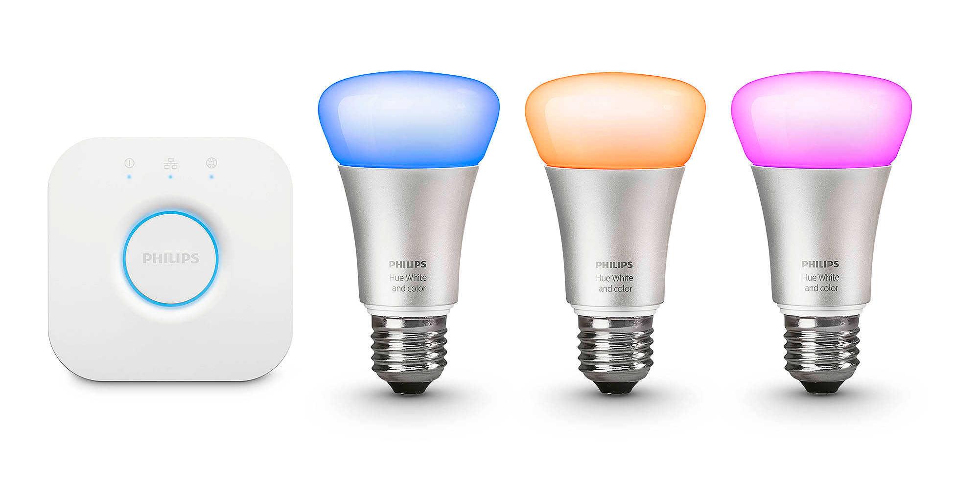 Philips Hue White Amp Color 2nd Gen Lighting Kit W Homekit