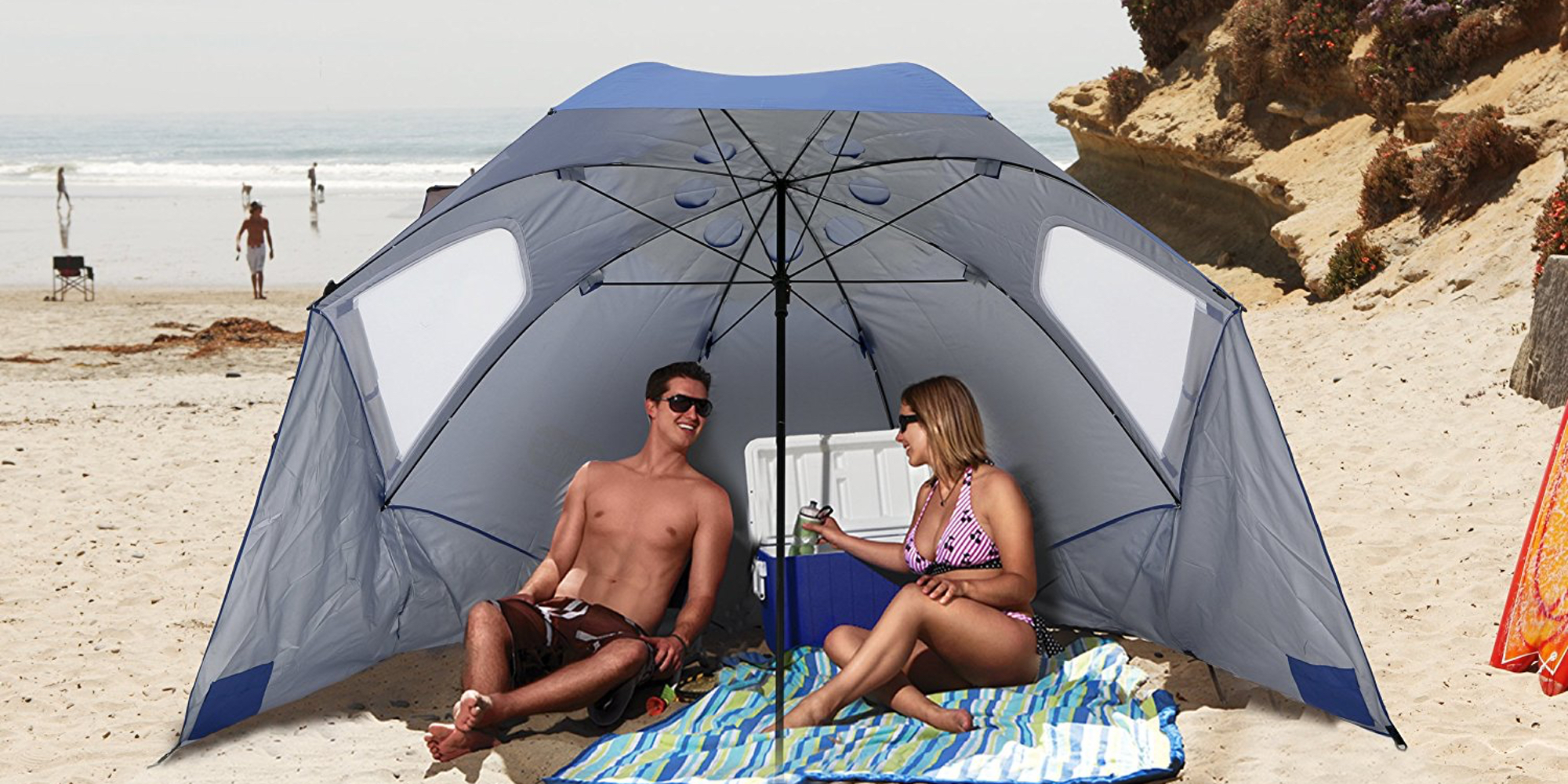 Sport-Brella XL 9-foot Canopy keeps you out of the sun for $28 (Reg. $60)