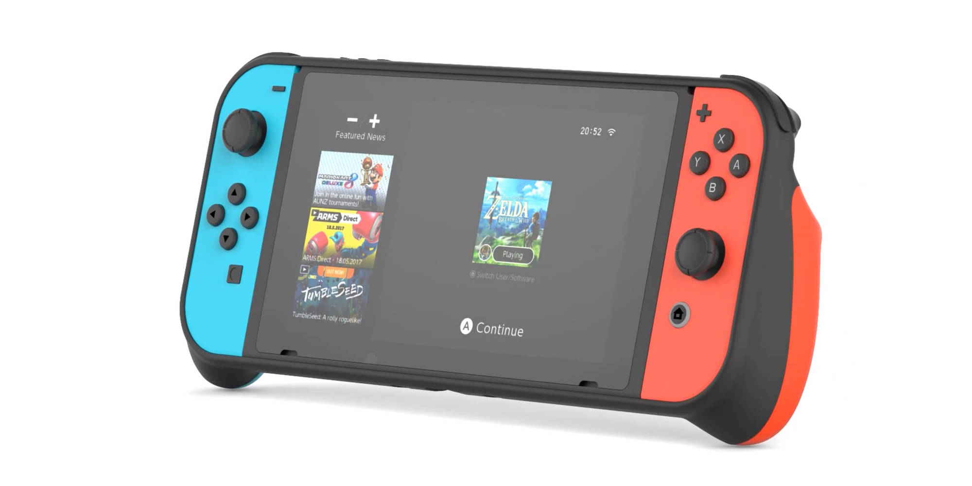 The SwitchCase says goodbye to hand-fatigue from extended Zelda gameplay