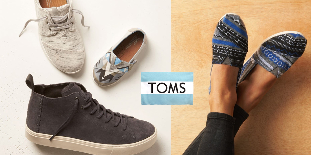 bc641f1bd98d TOMS Surprise Sale knocks up to 50% off shoes, sunglasses & more for summer