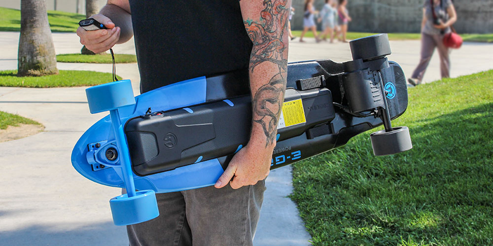 Take a Ride into the Future with the Yuneec EGo 2 Electric Longboard: $360 (Orig. $700)