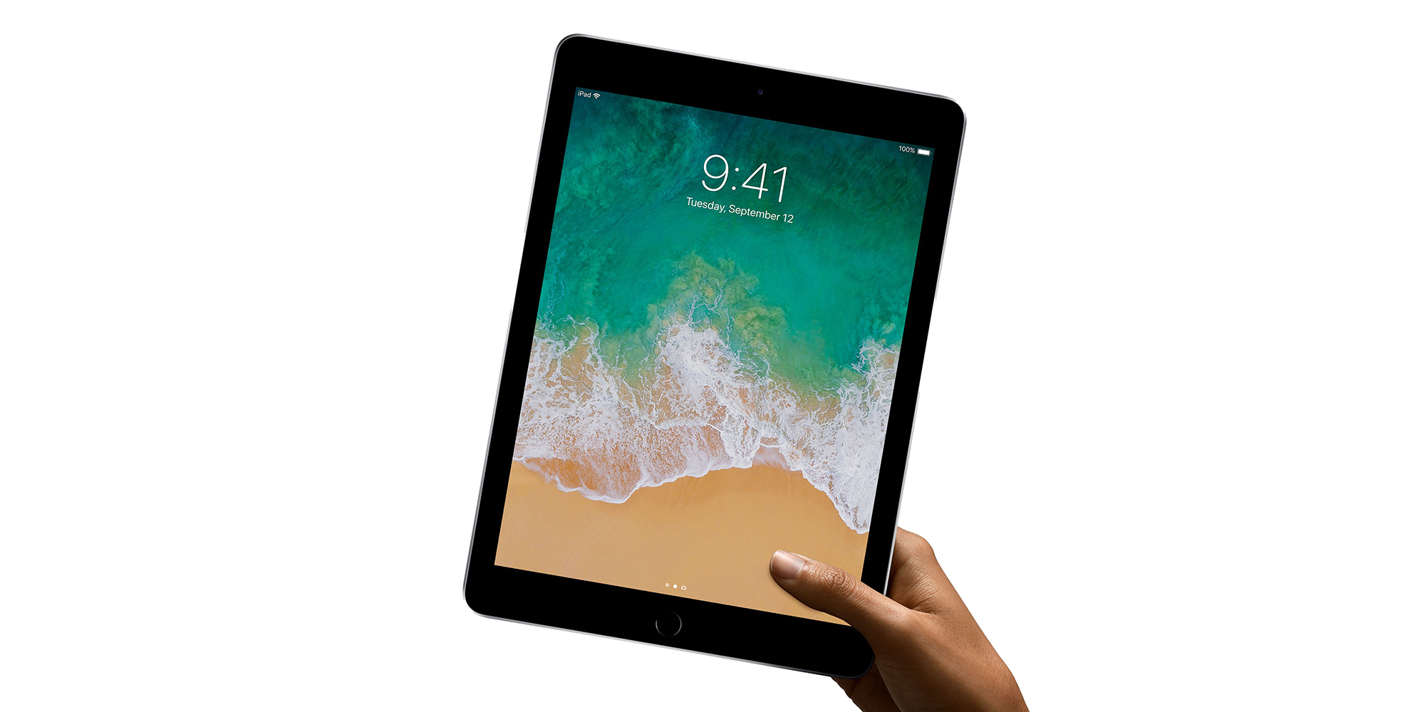Apple's previous-generation 9.7-inch iPad Wi-Fi 128GB: $329 (Orig. $429)