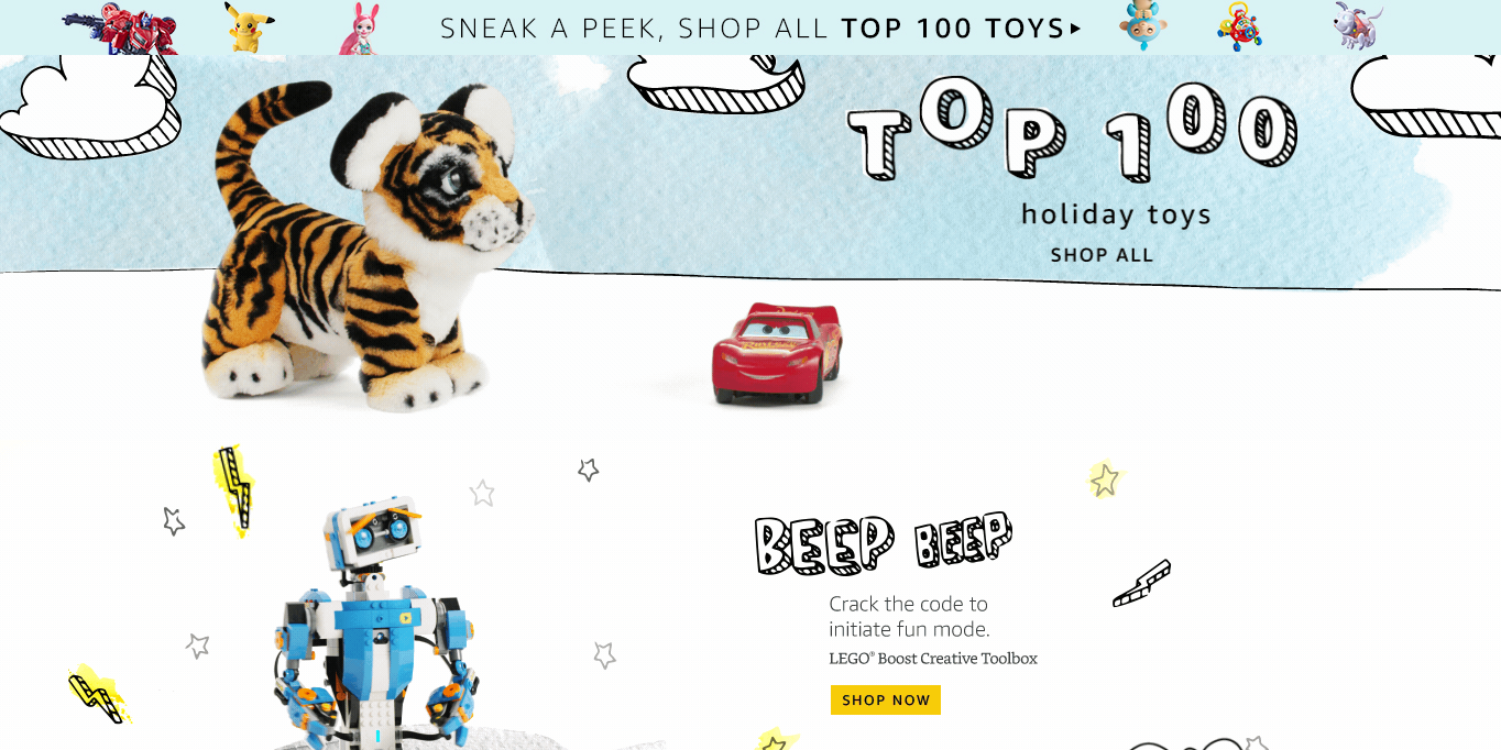 Amazon and Walmart announce the Top Toys for Holiday 2017 | 9to5Toys