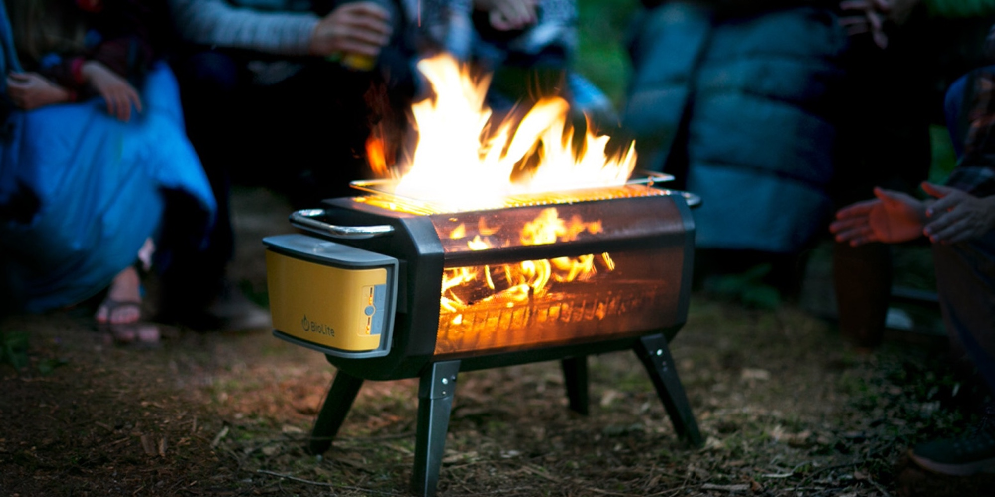 This BioLite FirePit keeps the smoke out of your outdoor experience