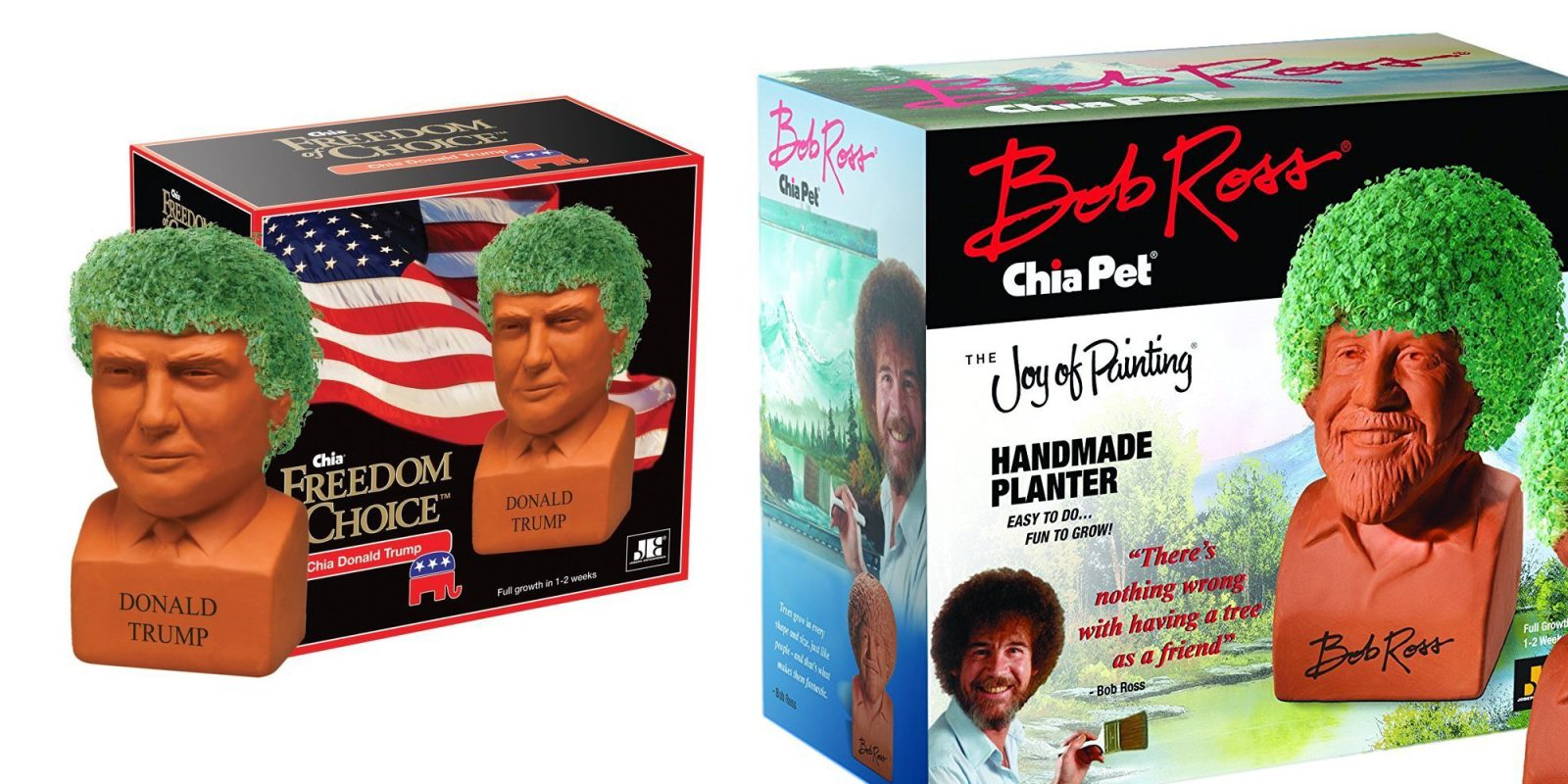 Bring Home Chia Pet Donald Trump For Just 15 Prime Shipped More
