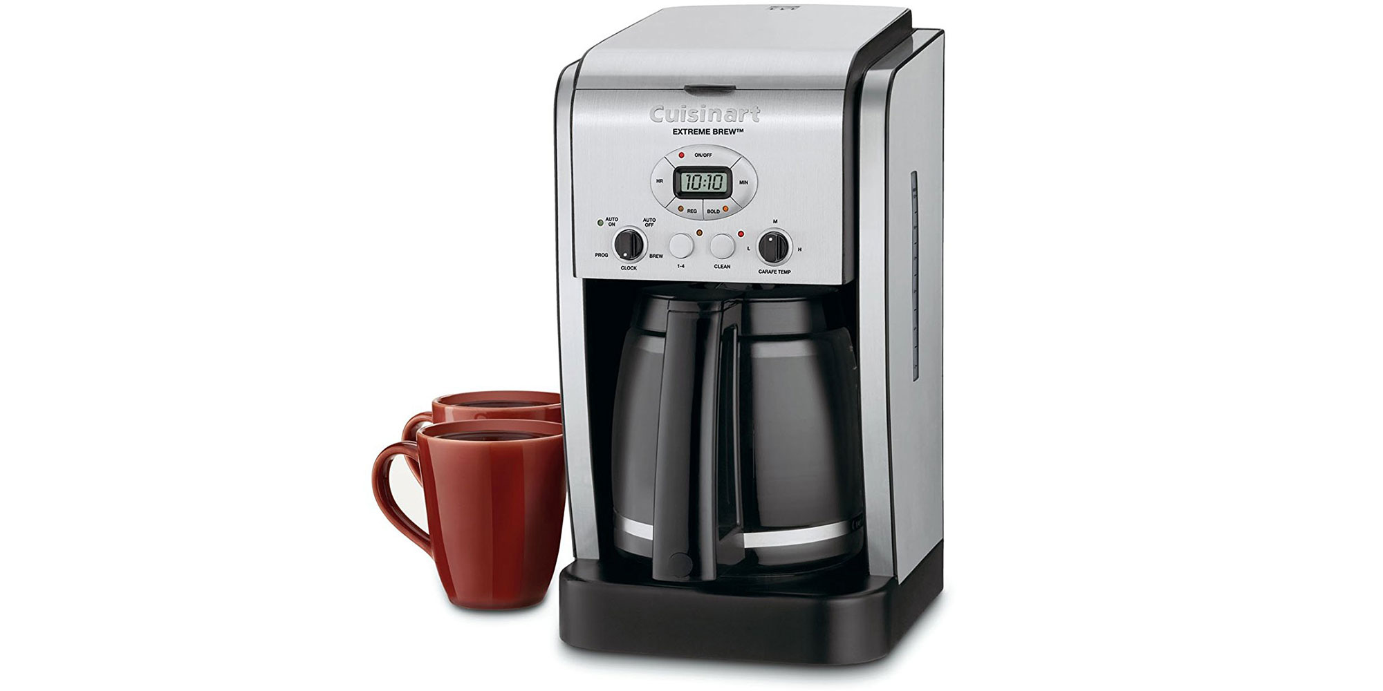 Brew coffee in no time w/ this Cuisinart Extreme 12 cup coffee maker: $35
