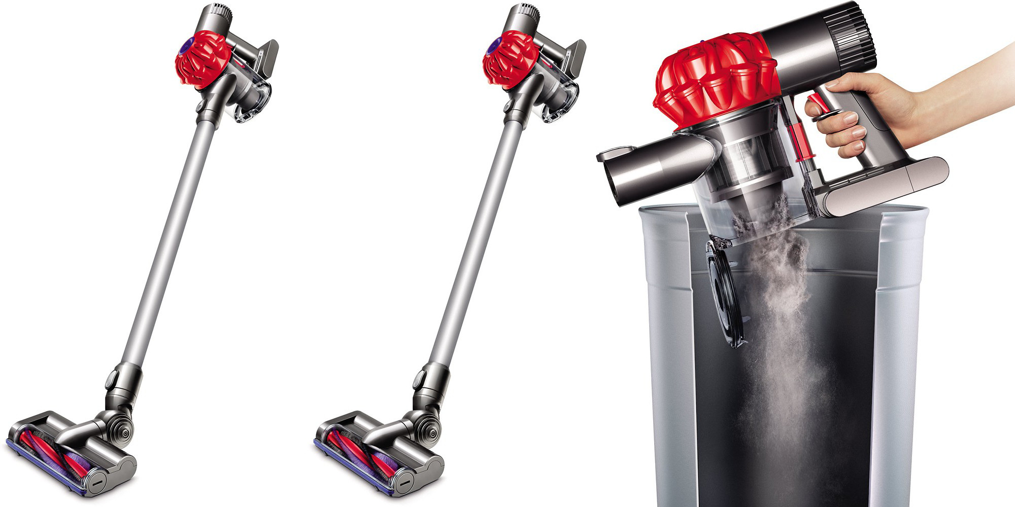 Dyson V6 Bagless Cordless Stick Vacuum Now 200 Shipped At
