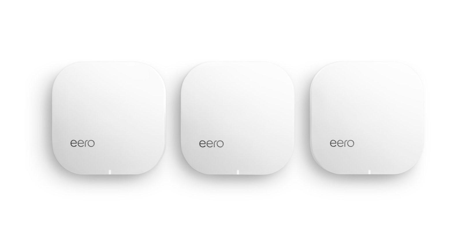 Amazon slashes 20% off its eero Pro 802.11ac mesh Wi-Fi kits starting at $239
