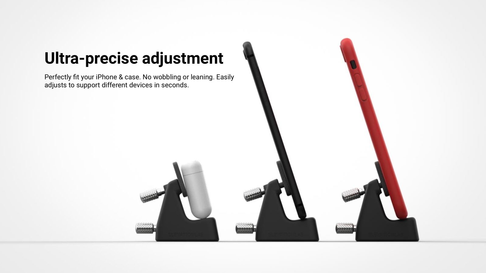New ElevationDock 4 for iPhone and iPad features adjustable stainless steel design and more