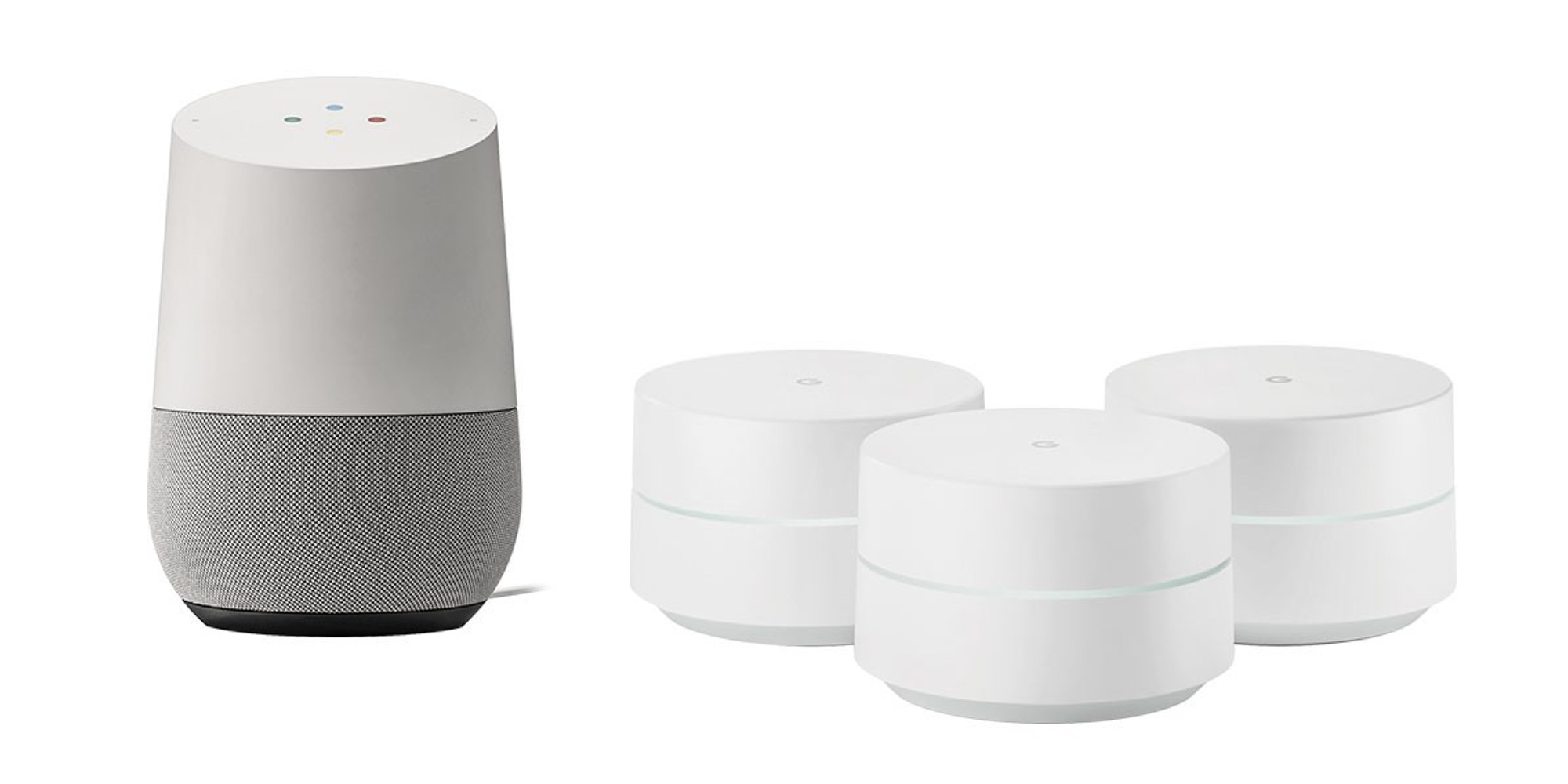 Add Google's mesh Wi-Fi system and smart speaker to your home for $358