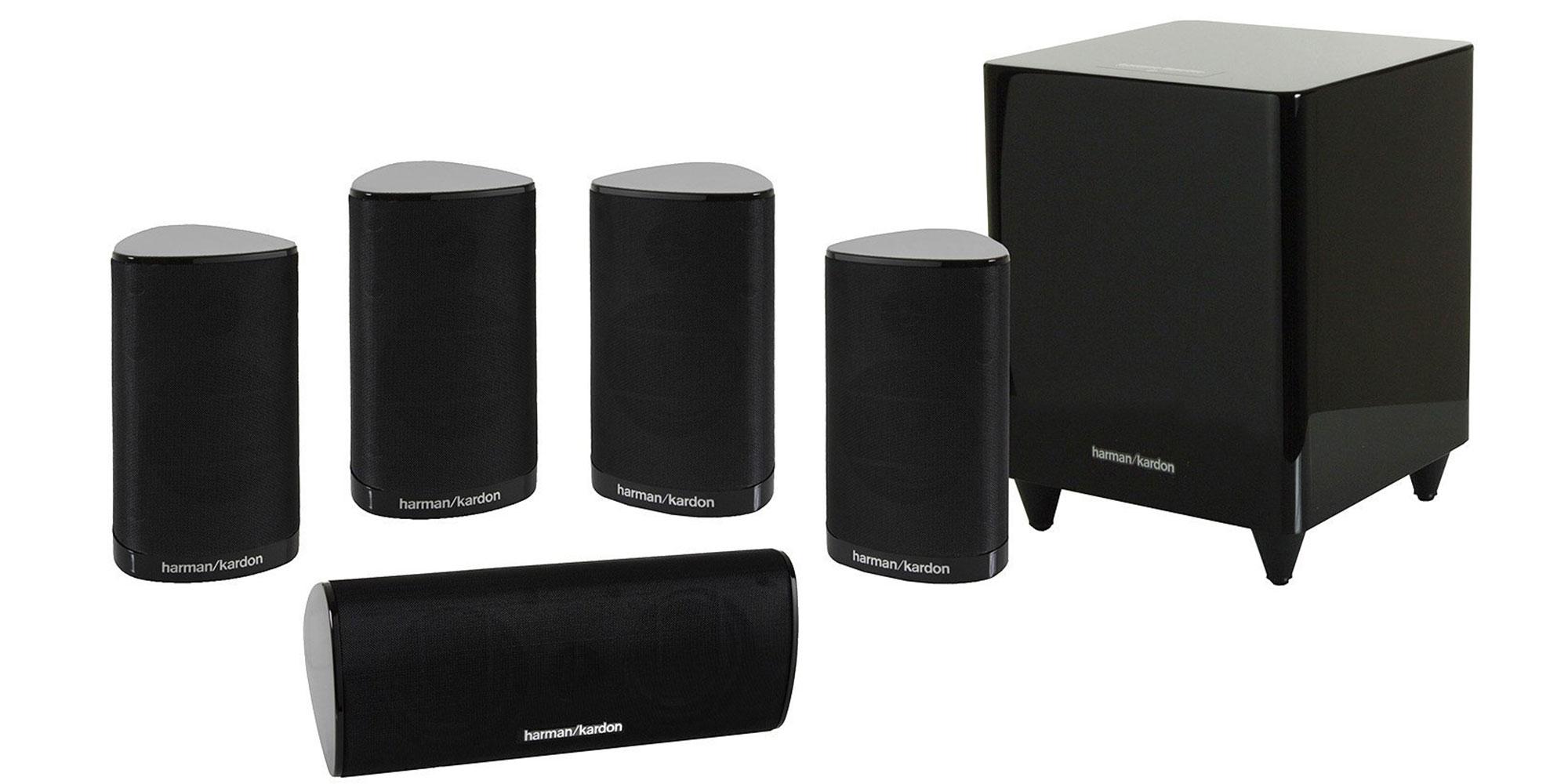 bring the theater home w this harman 5 1 surround sound. Black Bedroom Furniture Sets. Home Design Ideas