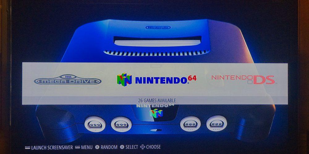 Emulation Station RetroPie Nintendo 64