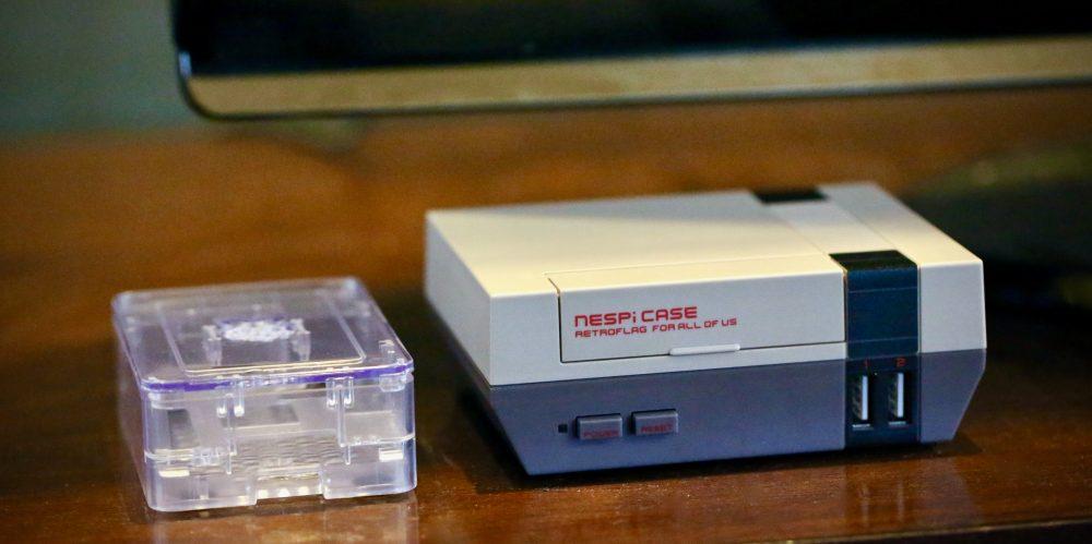 Raspberry Pi 3 NESPi RetroFlag case and CanaKit case