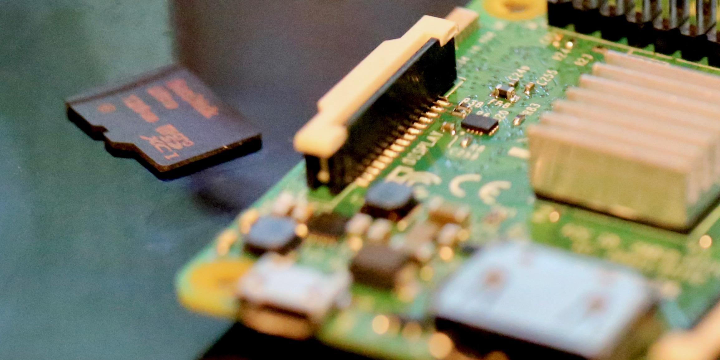 Raspberry Pi 3 microSD Card