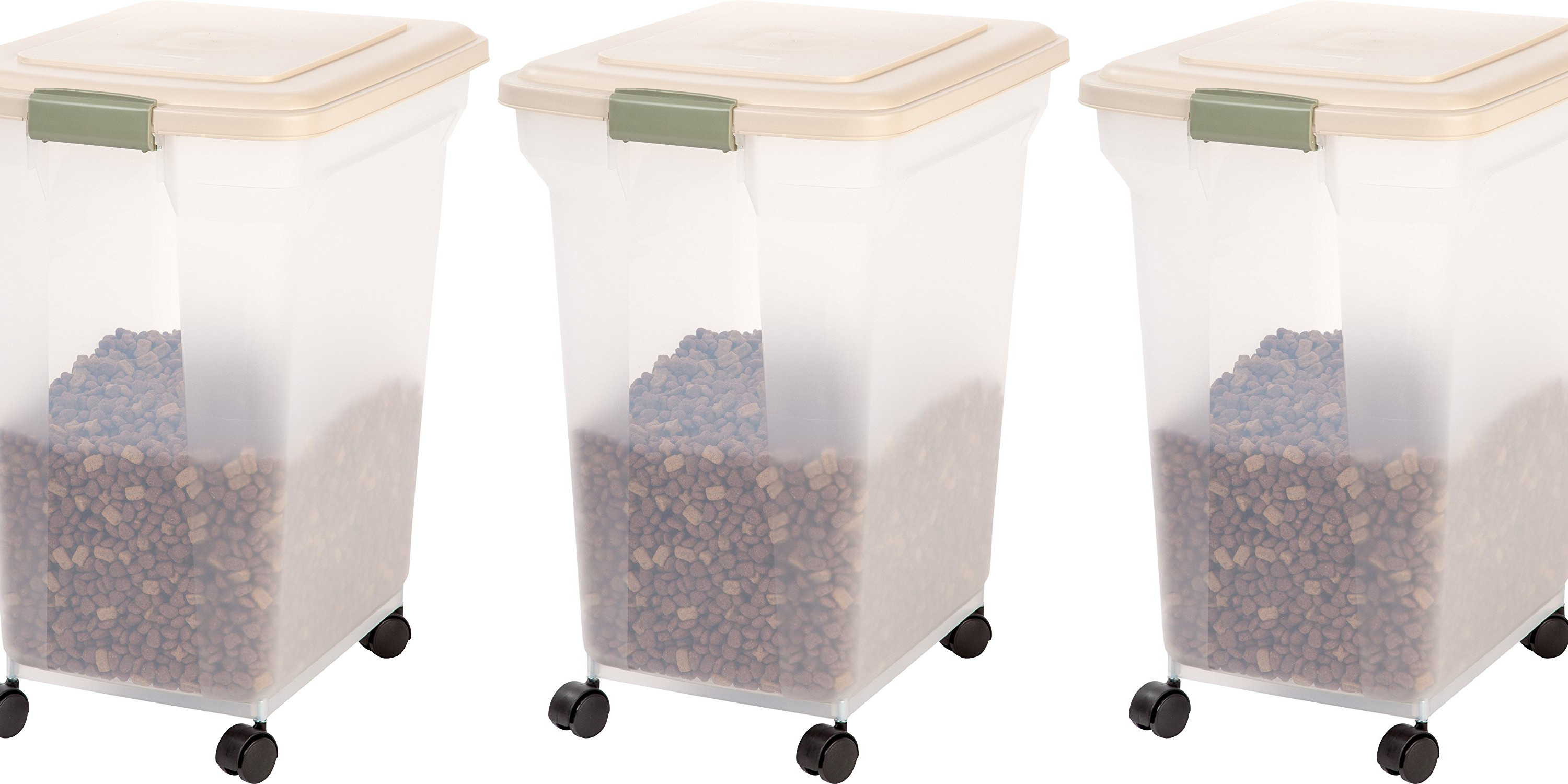 Pet Food Storage Container from IRIS 67-Qt. for $19 Prime shipped : iris storage bins  - Aquiesqueretaro.Com