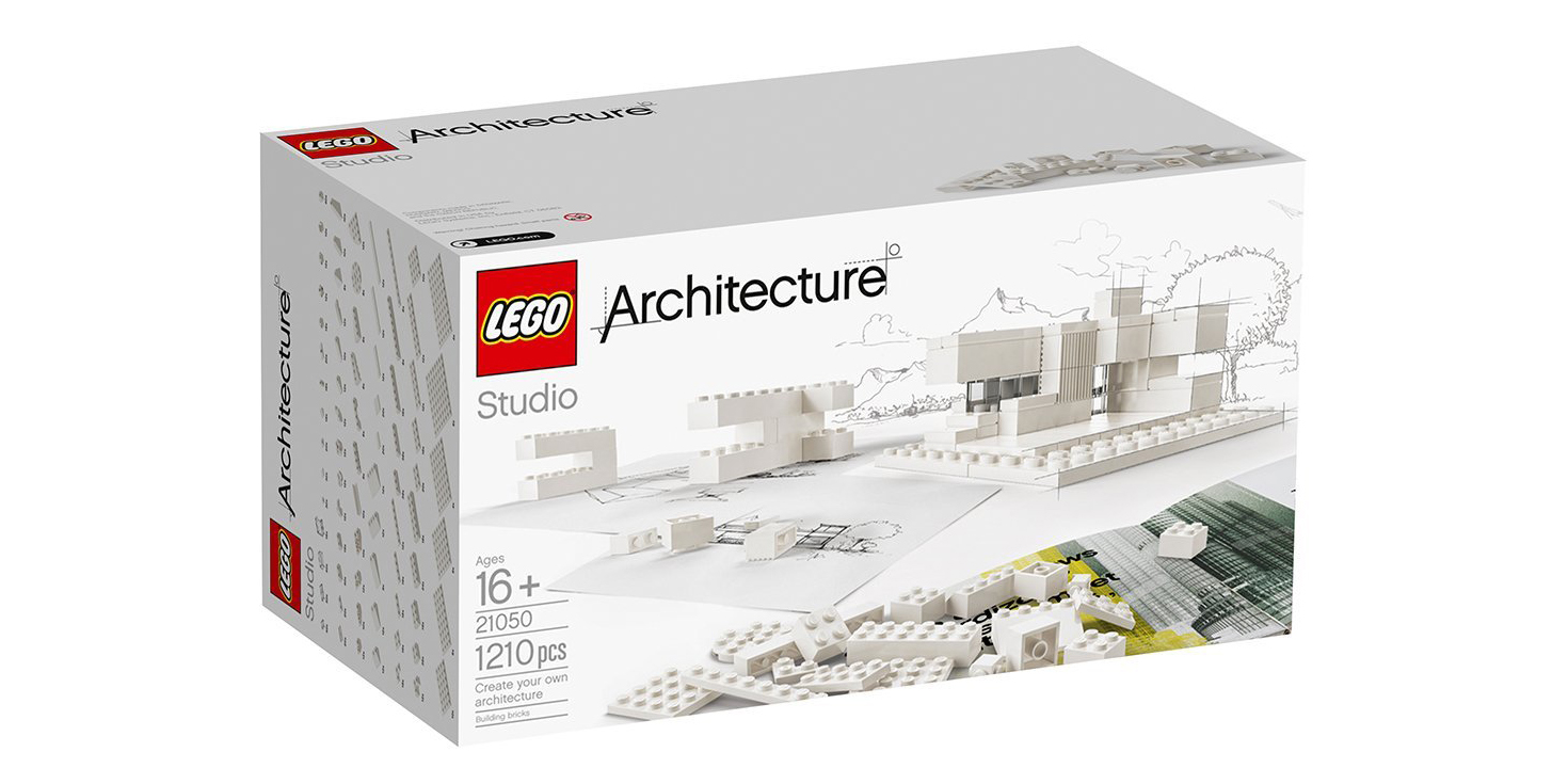 LEGO Architecture Studio includes 1,200-pieces + 272-pages of designs for $113