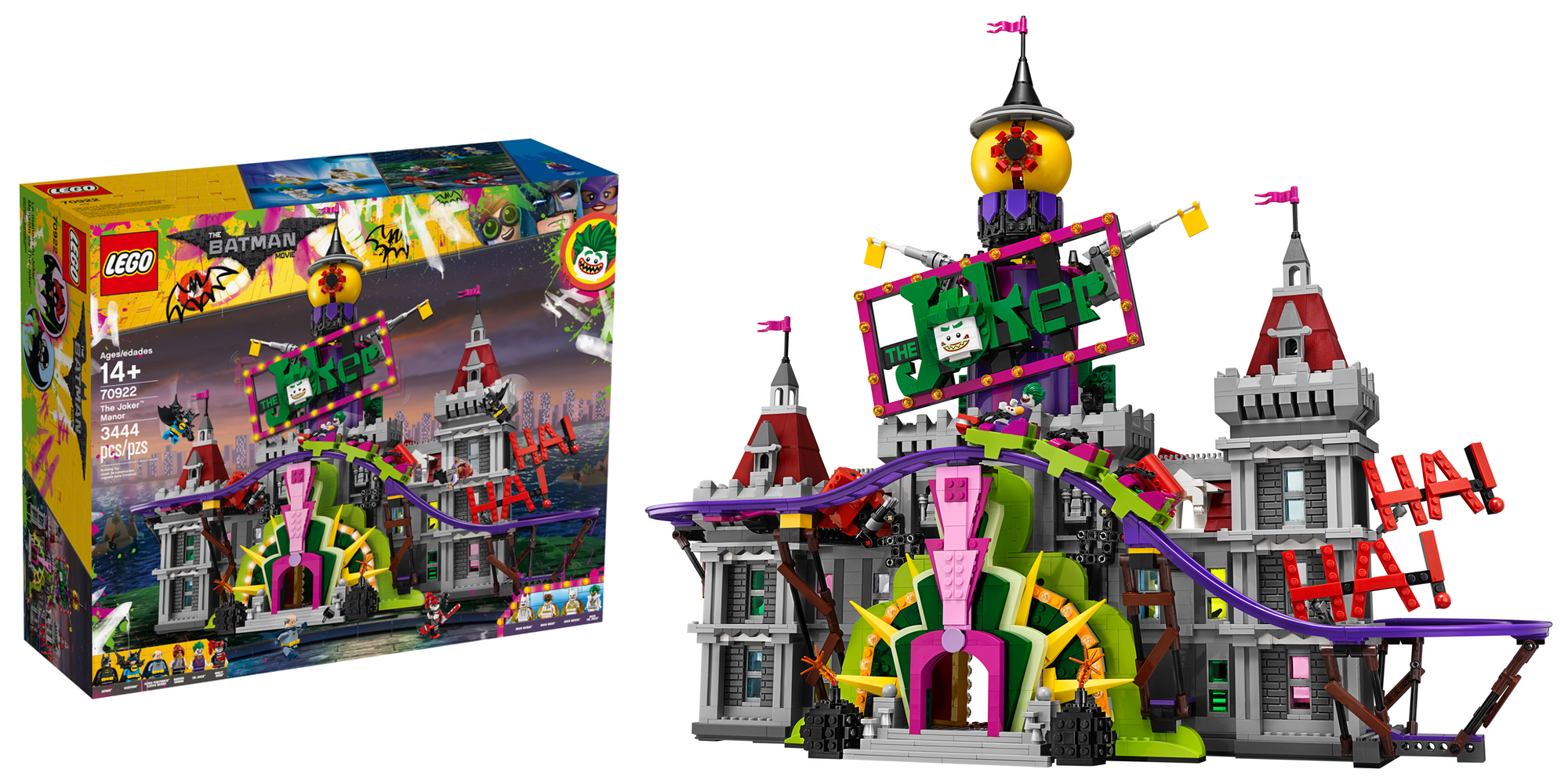 lego unveils new batman themed 3 400 piece joker manor set w 10 minifigures and more 9to5toys