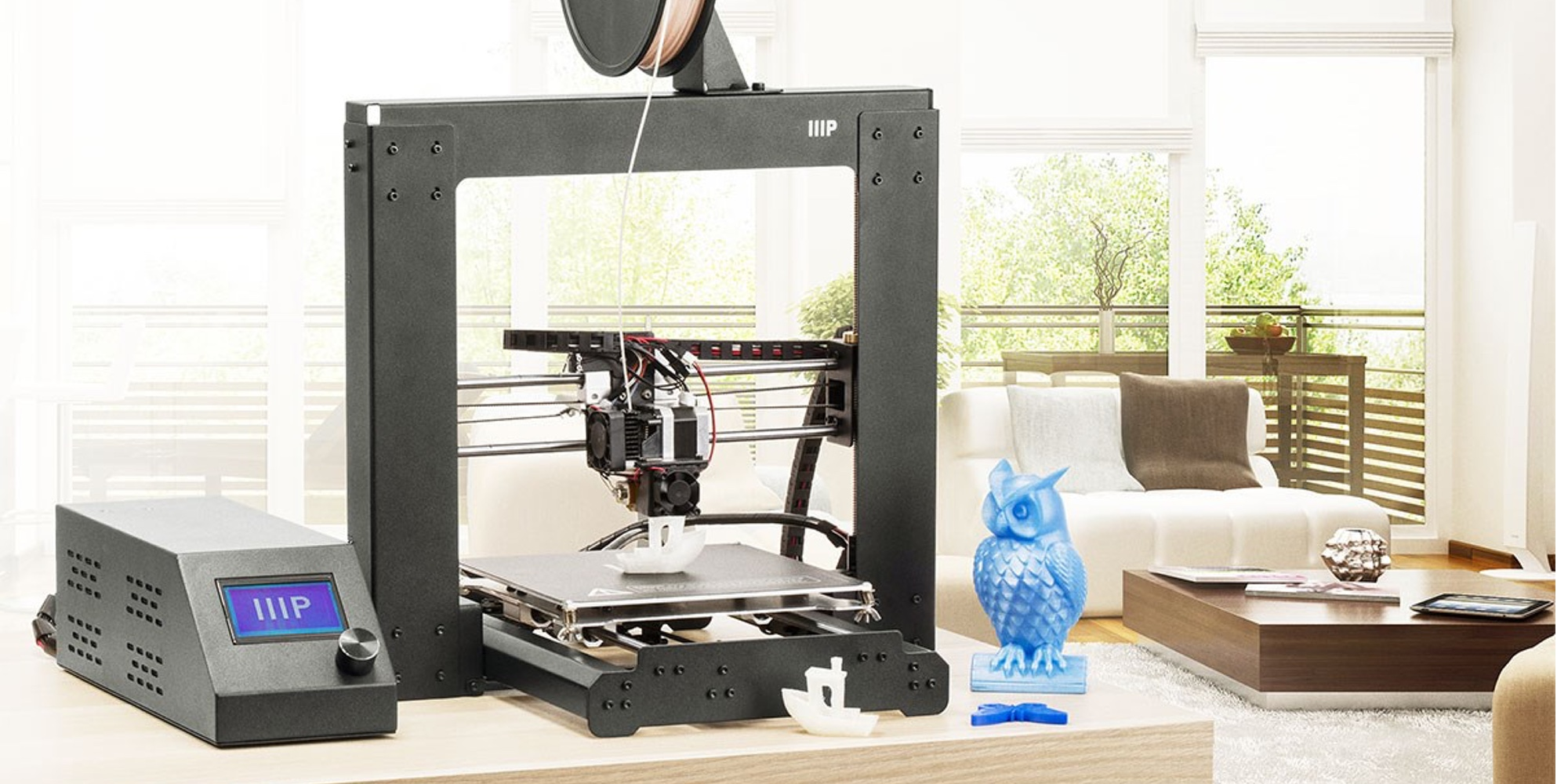 Create just about anything w/ Monoprice's Maker Select Plus 3D Printer at $275 ($125 off)