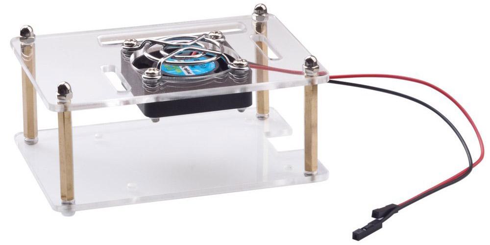 Raspberry Pi 3 fan and case