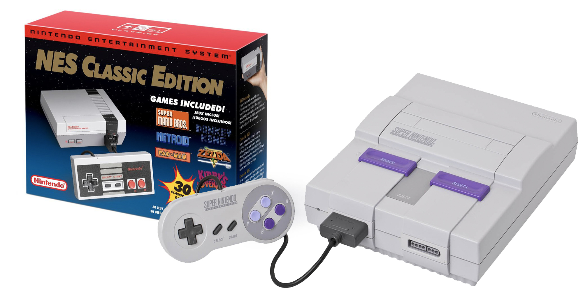 Nintendo Is Resurrecting The Nes Classic More Snes Shipments Coming