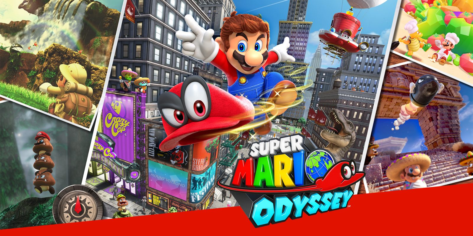 Super Mario Odyssey on Nintendo Switch + Collectible Coin from $39