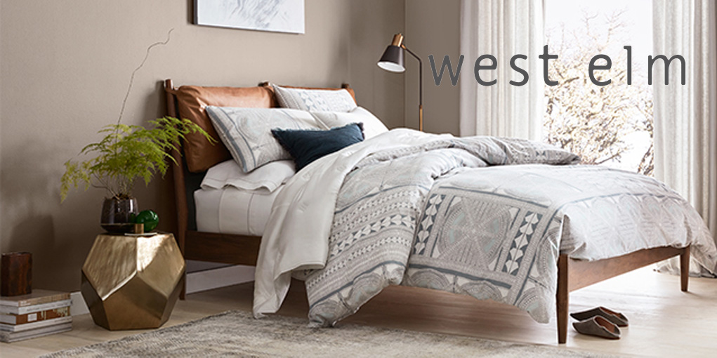 West Elm Takes 20% Off Bedroom Furniture + Up To 60% Off