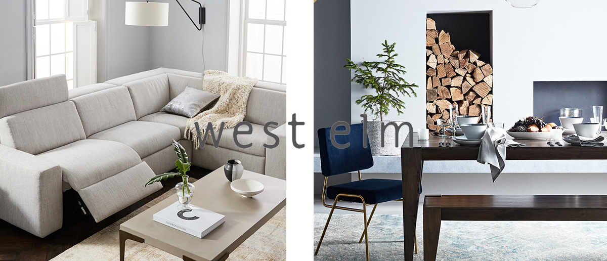 West Elm End Of Season Sale With An Extra 20% Off Sale Items + Free Delivery