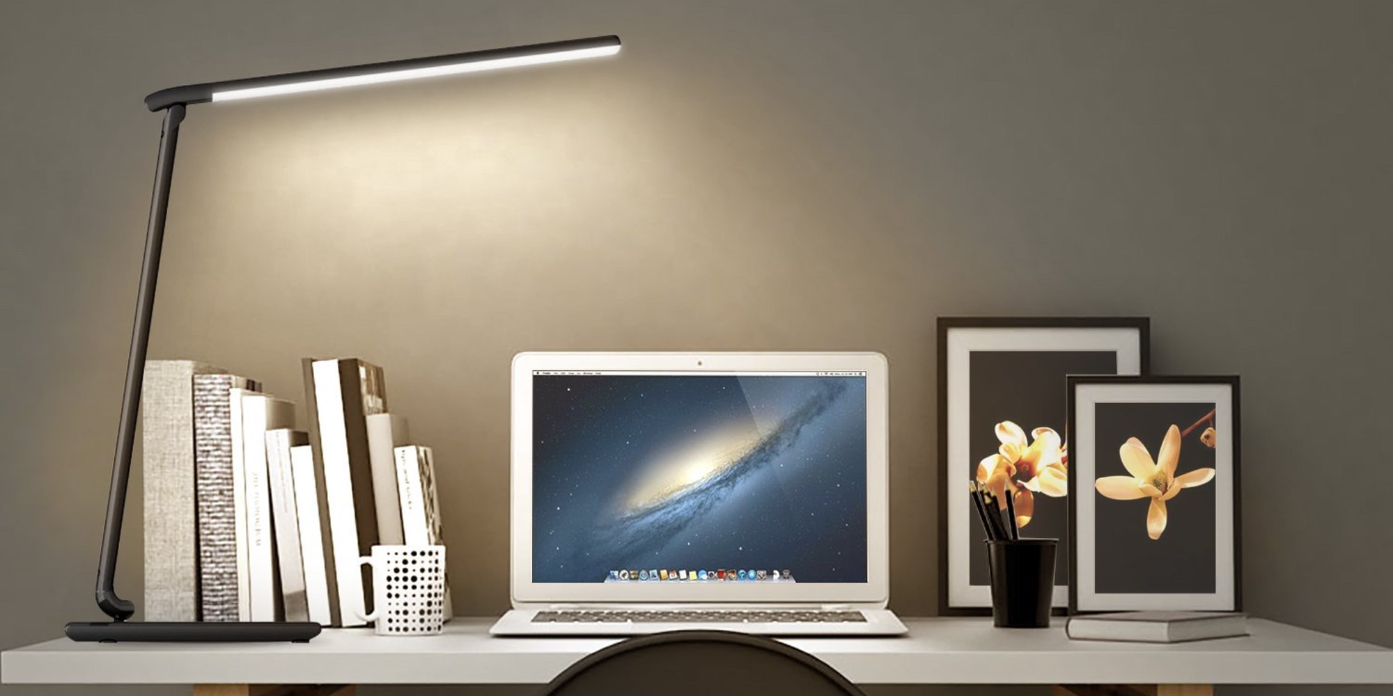Aukey Charging Shipped Usb Desk Lamps W From28 9to5toys Ports H2IDYWE9