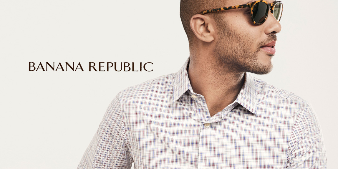 Banana Republic takes 50% off t-shirts, 40% off pants and 30% off outerwear
