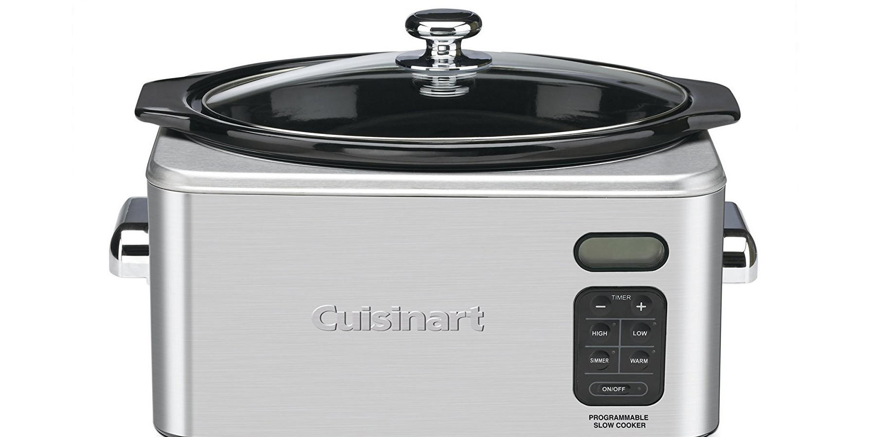 Cuisinart Stainless 6.5-Quart Programmable Slow Cooker drops to $46.50 shipped