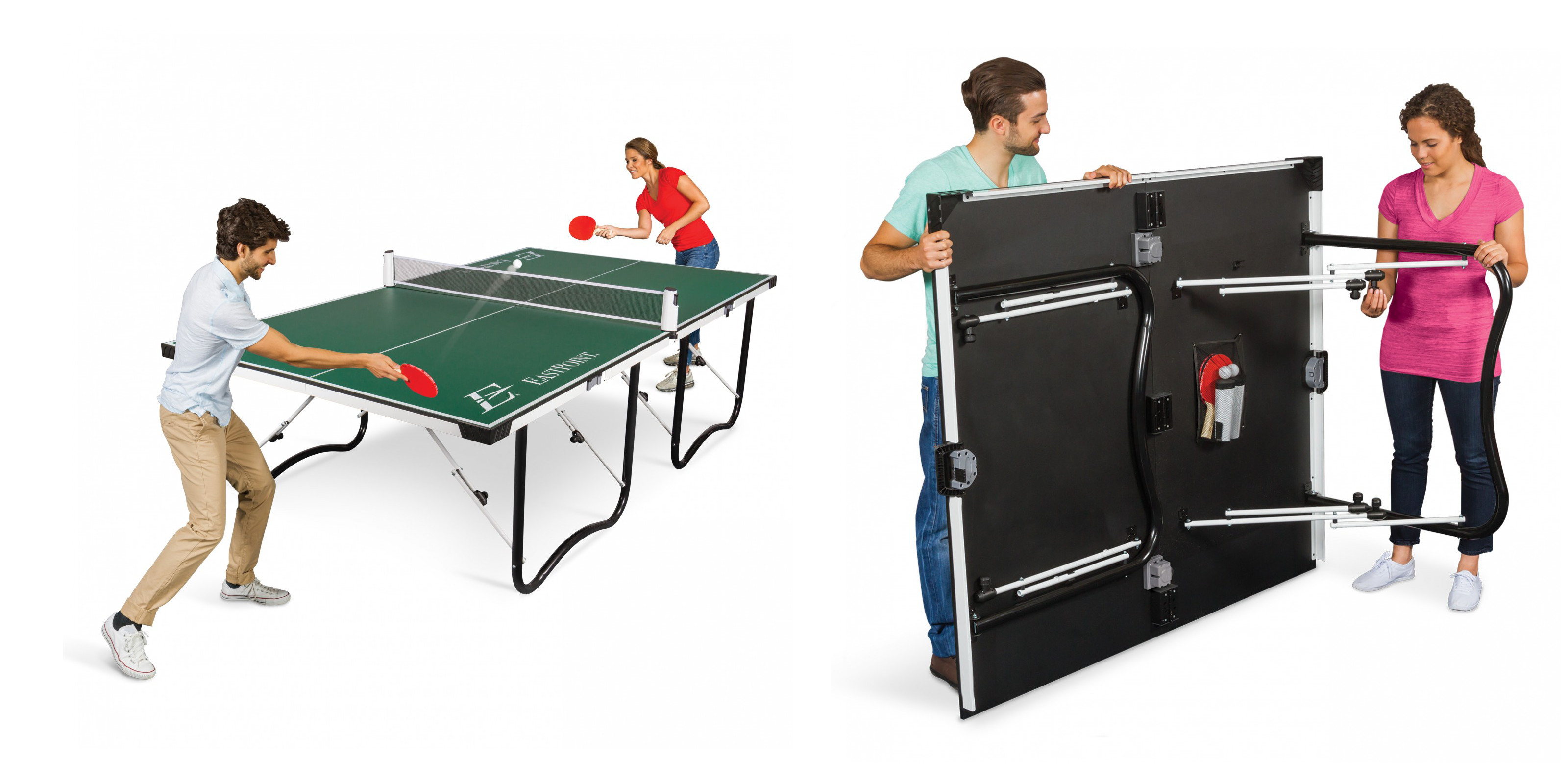 Eastpoint Fold N Store Table Tennis Set Now Over 100 Off