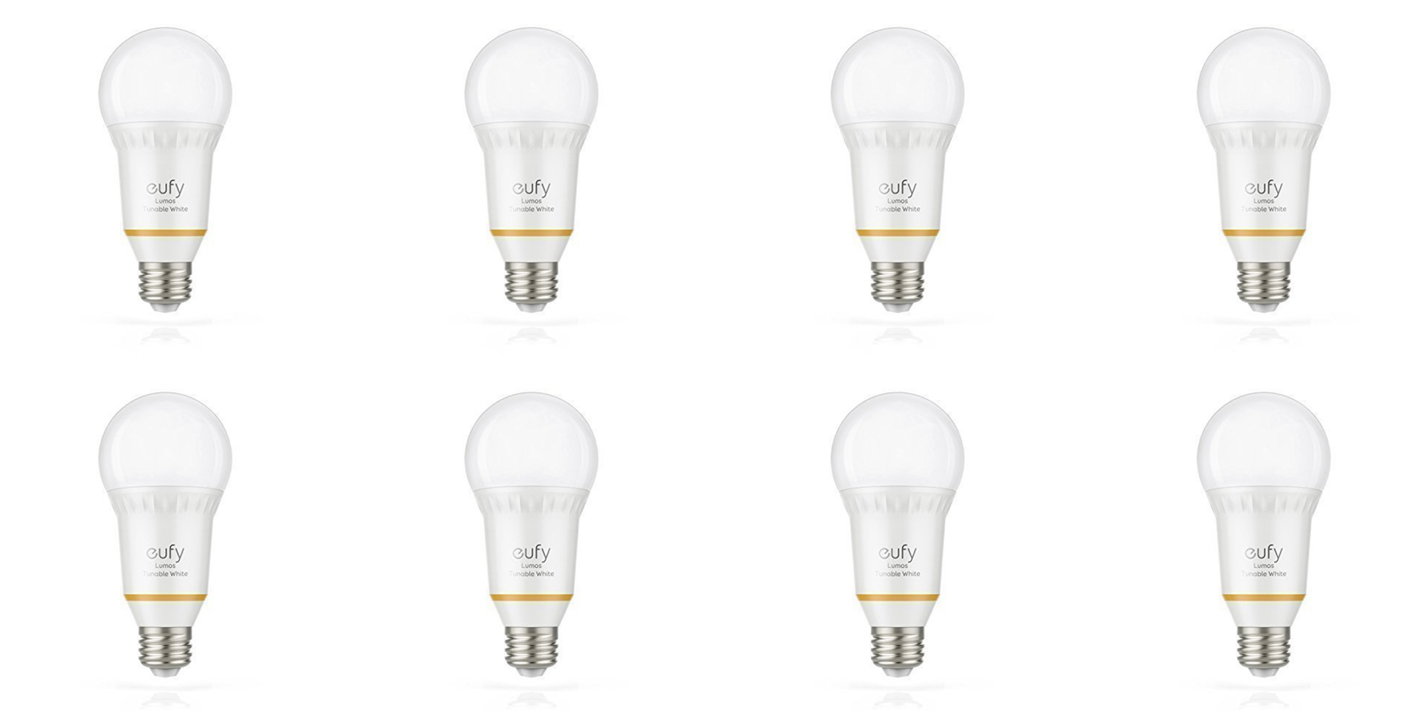 anker u0026 39 s lumos dimmable smart bulbs w   alexa control are