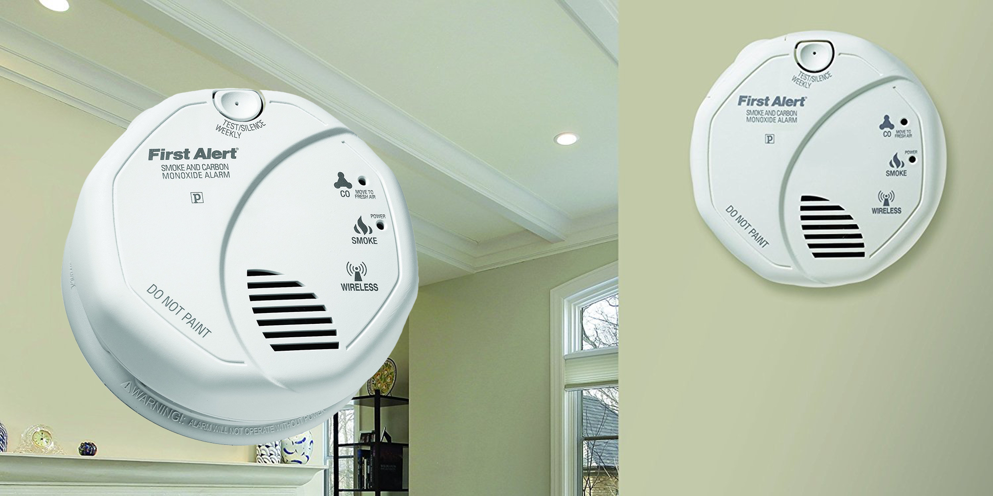 First Alert Z-Wave Smoke Detector & Carbon Monoxide Alarm hits all-time low at $33