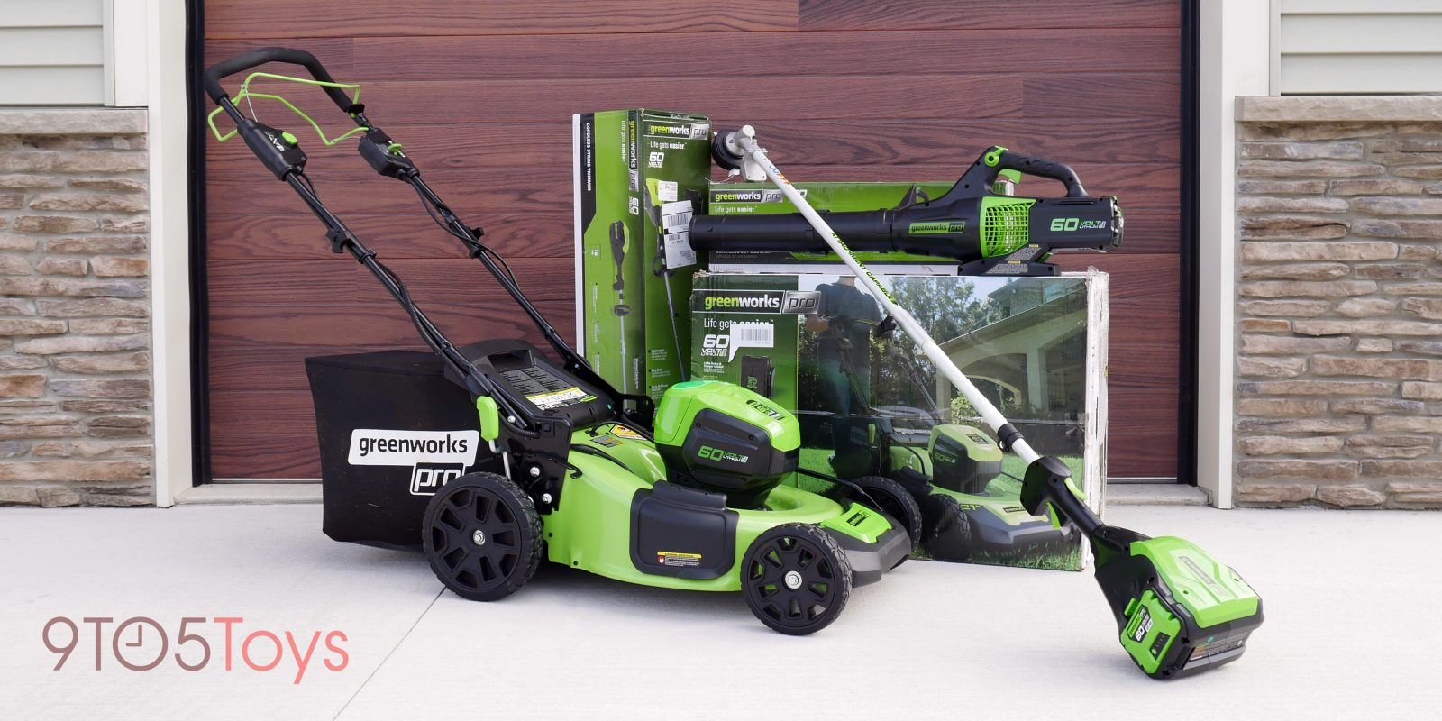 GreenWorks Pro 60V Review: Farewell gas outdoor tools, I'm