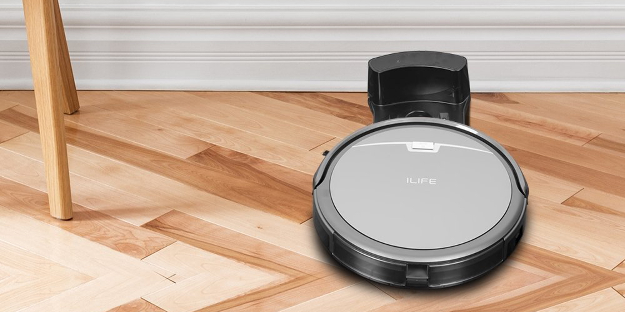 The Ilife 3 Step Robotic Vacuum Cleaner Drops To 150