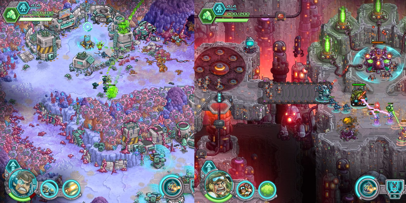 The popular Iron Marines iOS strategy game now matching all-time low at $3