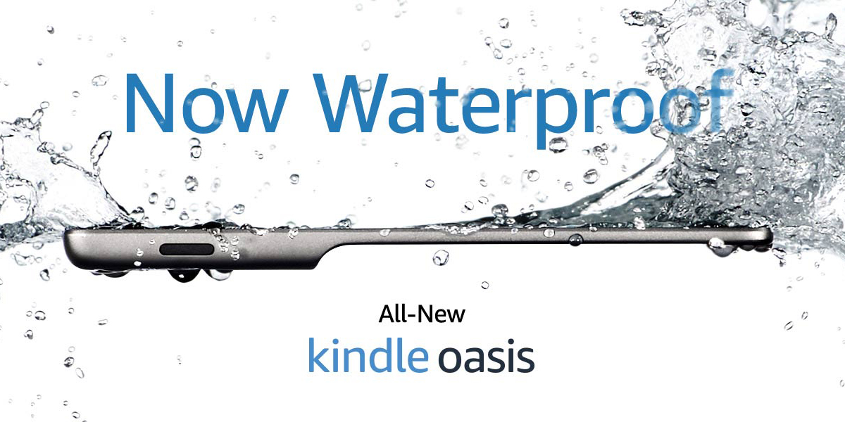 Amazon clears out Kindle Oasis E-reader inventory with $50 discount