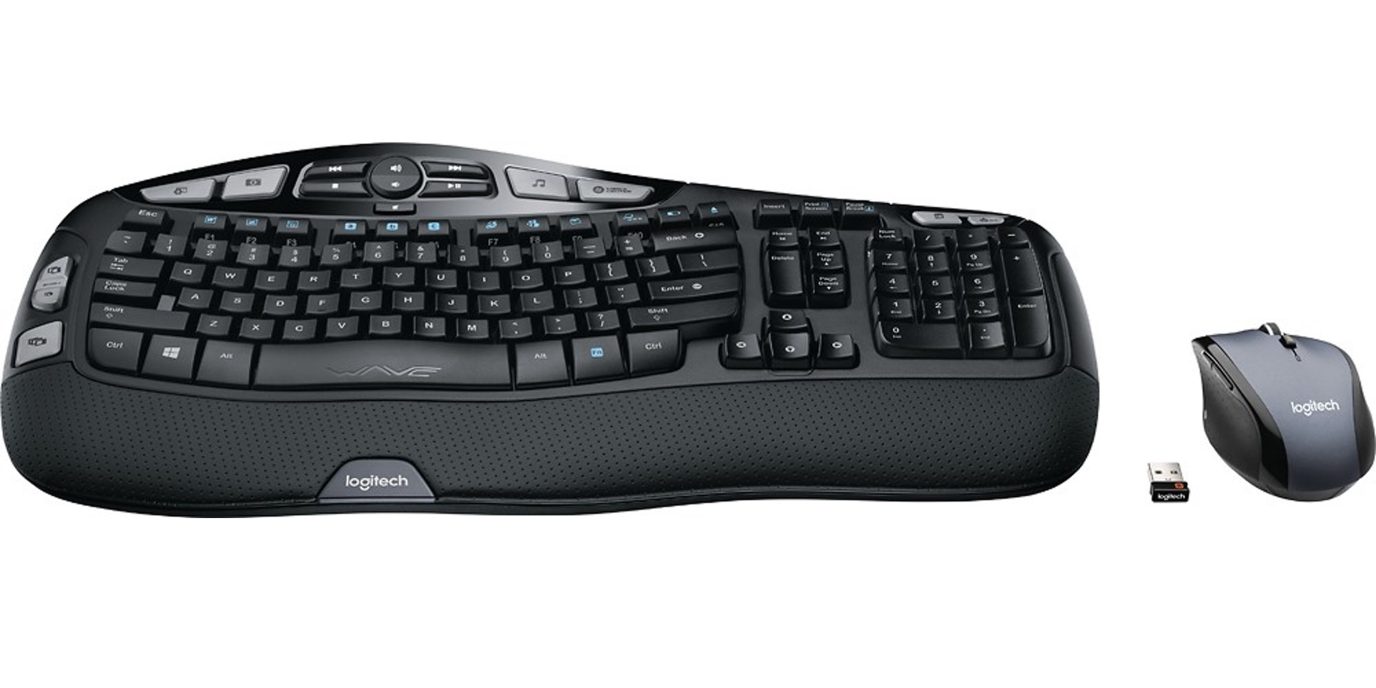 38928975565 Logitech MK570 Comfort Wave Keyboard and Mouse $35, today only - 9to5Toys